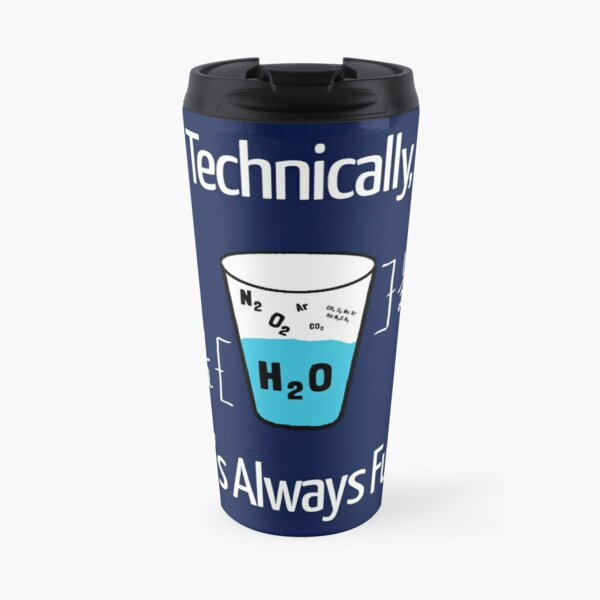 Funny Science Humor Travel Mug