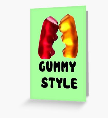Gummy style Greeting Card