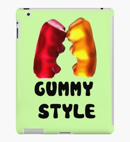 Gummy style iPad Case/Skin