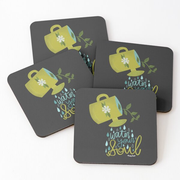 Water Your Soul Coasters (Set of 4)