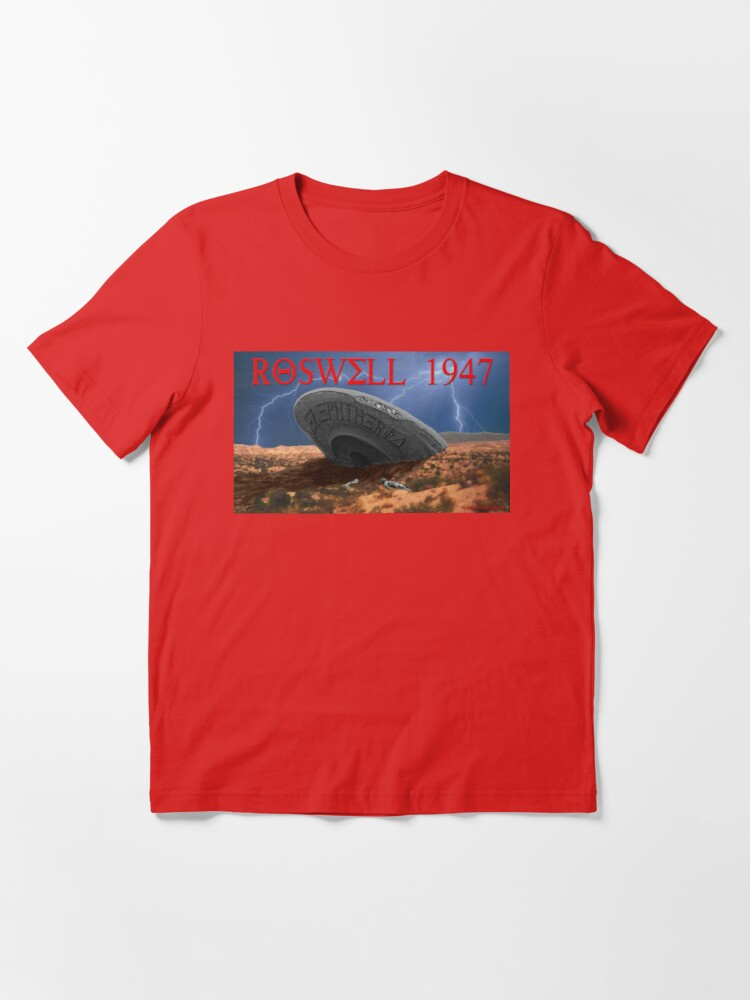 Alternate view of Roswell Lightning Essential T-Shirt