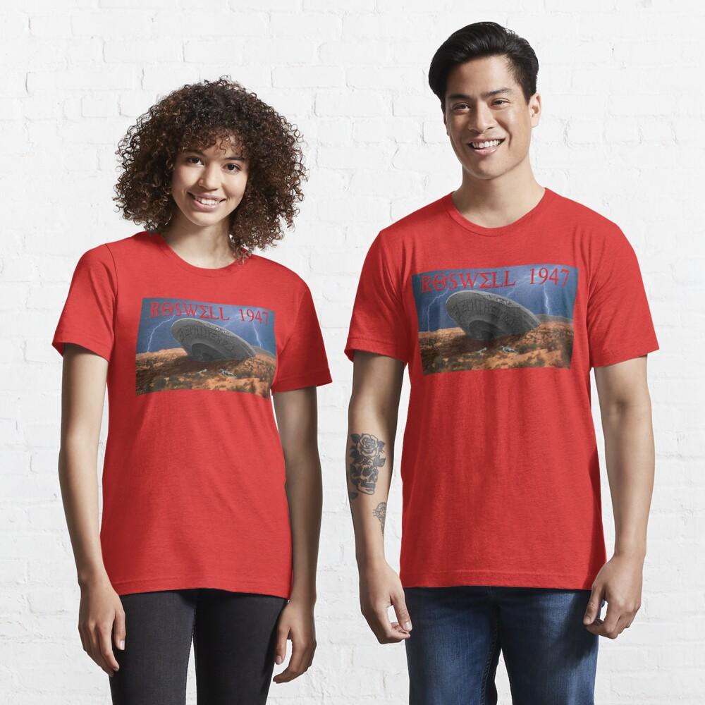 Roswell Lightning Essential T-Shirt