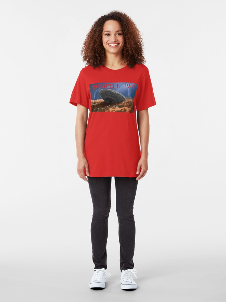 Alternate view of Roswell Lightning Slim Fit T-Shirt