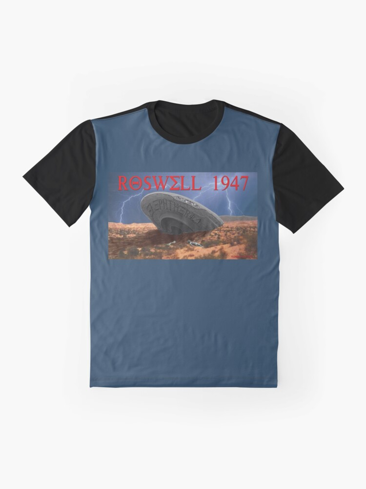 Alternate view of Roswell Lightning Graphic T-Shirt