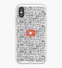 Youtube iPhone Case