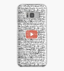 Youtube Samsung Galaxy Case/Skin