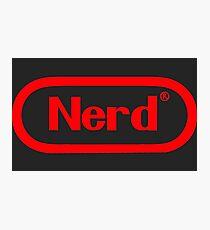 NERD! Photographic Print