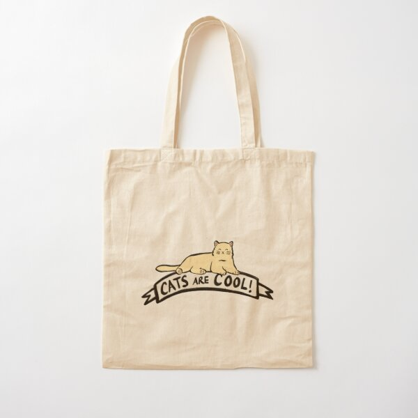 Cats are Cool Cotton Tote Bag