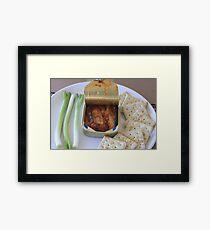 Scallions, Sardines and Saltines Framed Print