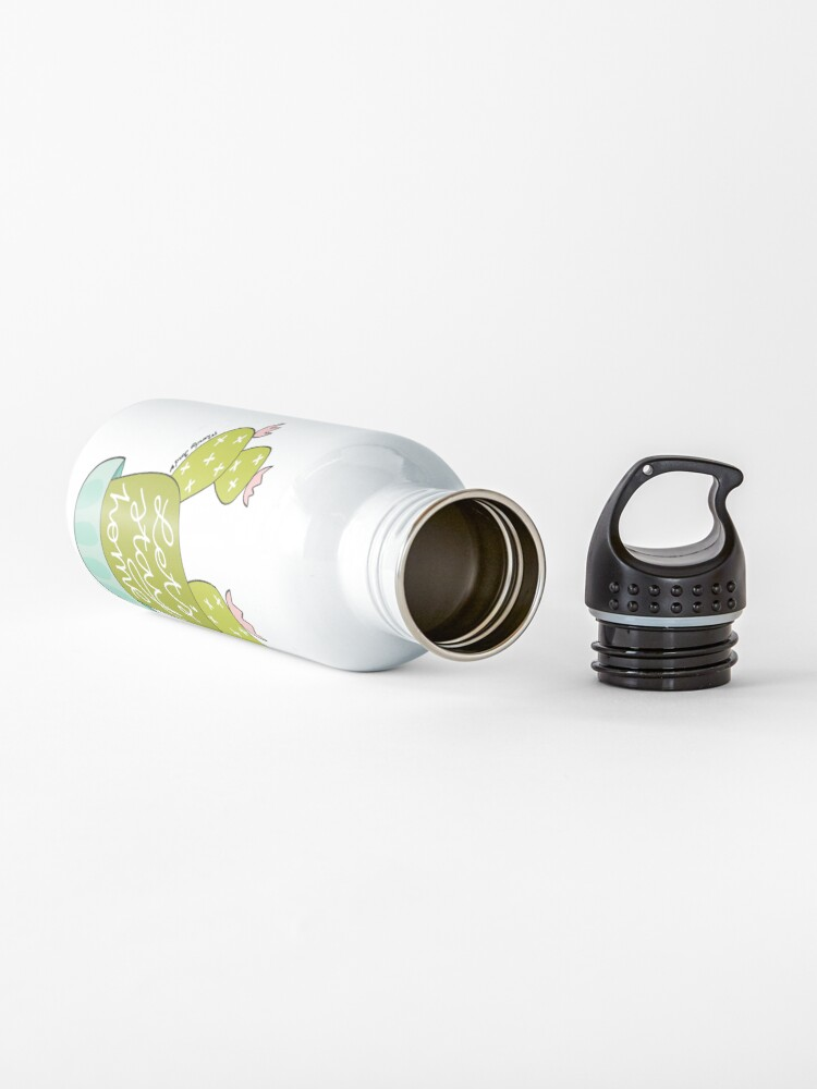 Alternate view of Let's Stay Home Water Bottle