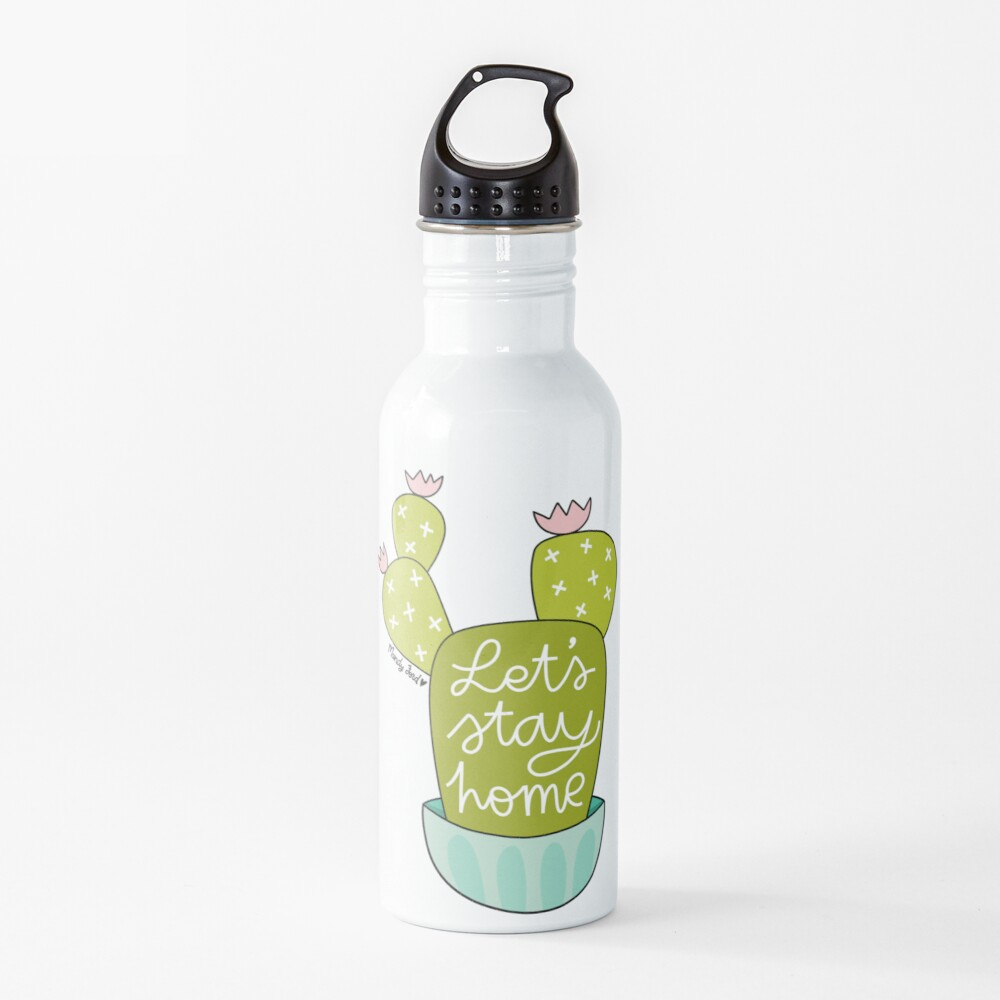 Let's Stay Home Water Bottle