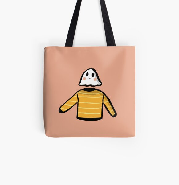 Autumn Sweater Ghost Friend All Over Print Tote Bag
