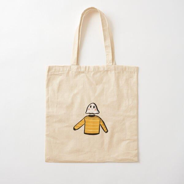 Autumn Sweater Ghost Friend Cotton Tote Bag