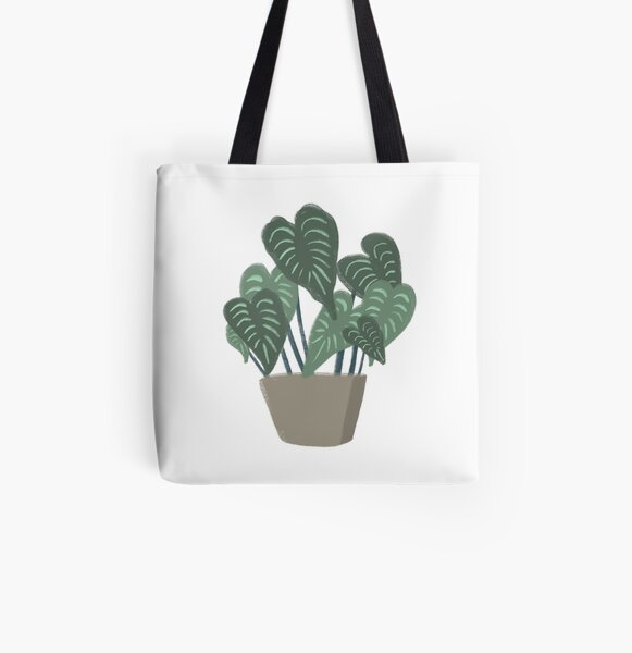 Potted Plant Friend All Over Print Tote Bag
