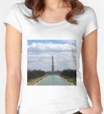 Washington Memorial Women's Fitted Scoop T-Shirt