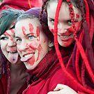 Ladies in Red by Tom Gomez