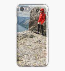 Norwegian fjord iPhone Case/Skin