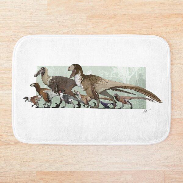 Dromaeosaurs 2019 Bath Mat
