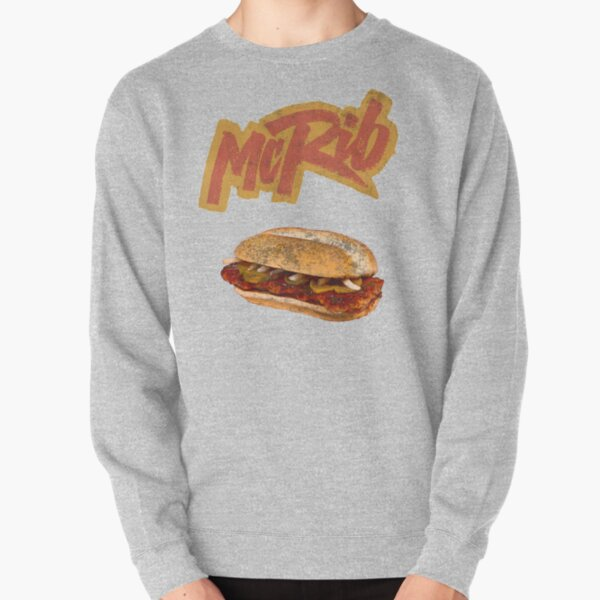 McRib (90s throwback) Pullover Sweatshirt