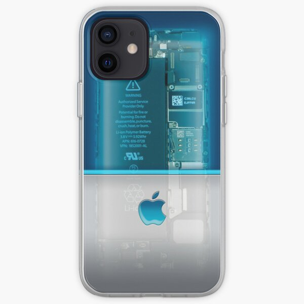 Apple phone Case - Blue iPhone Soft Case
