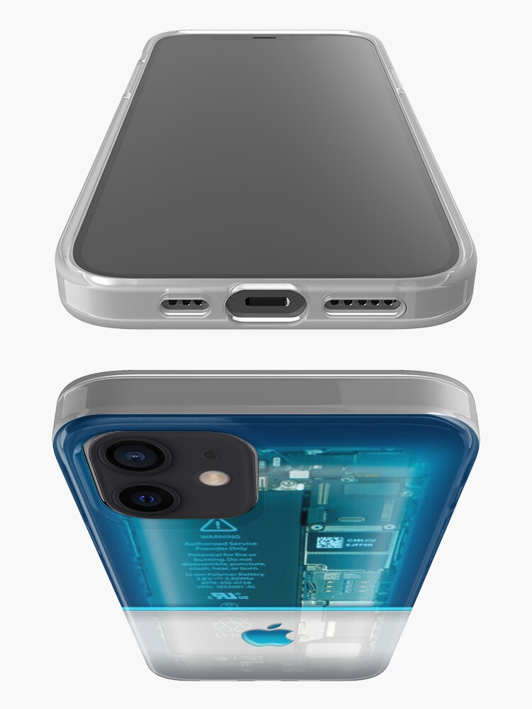 Alternate view of Apple phone Case - Blue iPhone Case & Cover