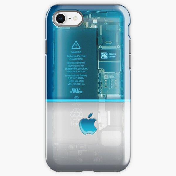 Apple phone Case - Blue iPhone Tough Case
