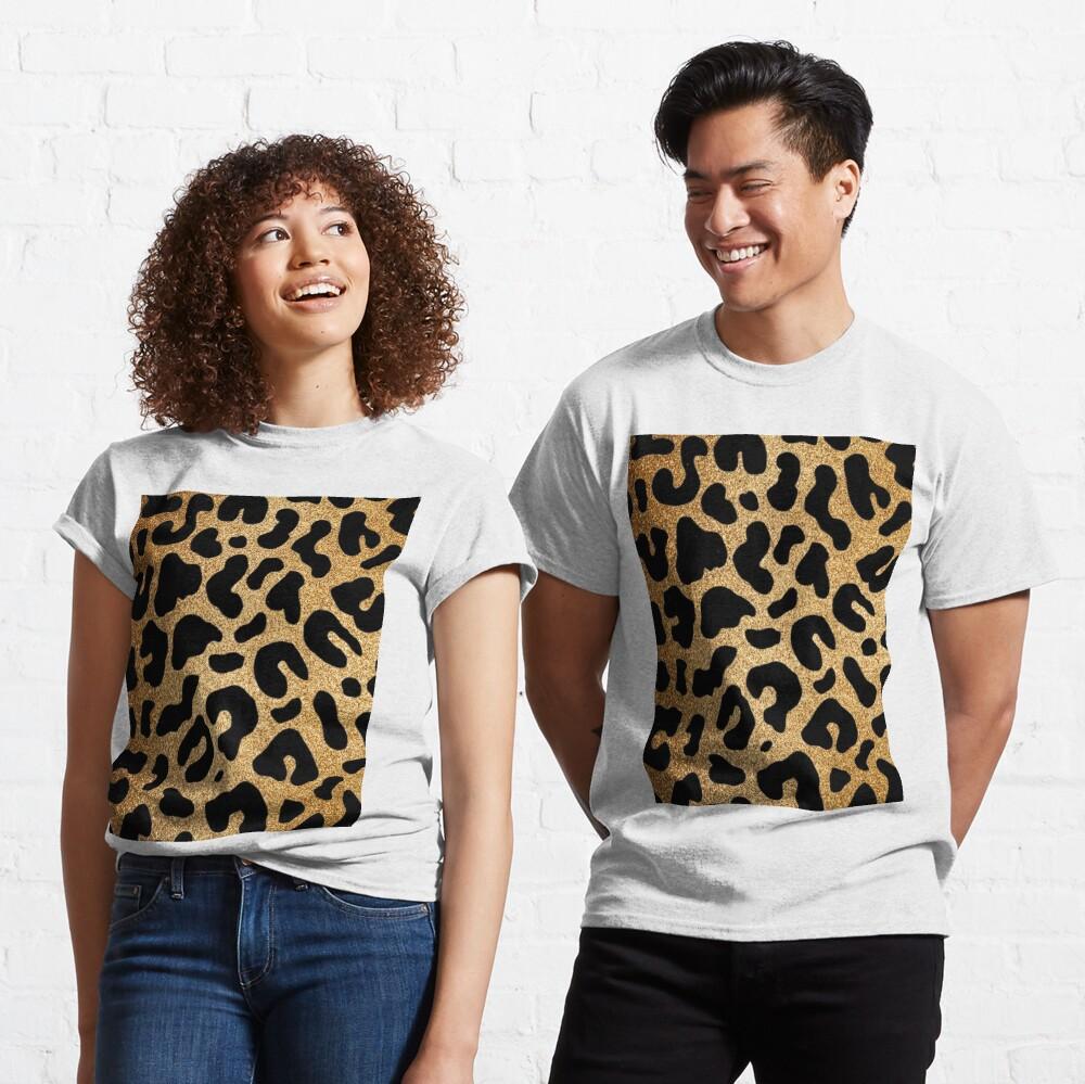 Glitter Leopard Classic T-Shirt