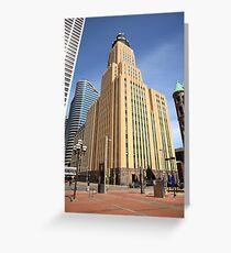 Minneapolis Skyscrapers Greeting Card