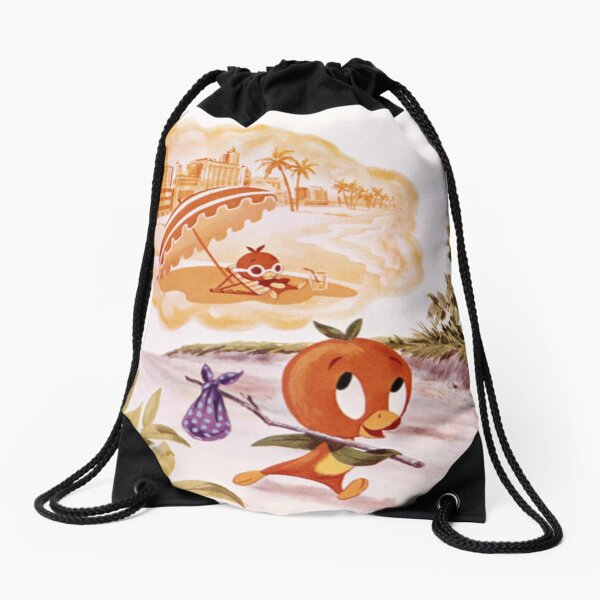 Headed For Fun In The Sun Drawstring Bag