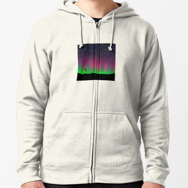 Reach for the Stars Zipped Hoodie