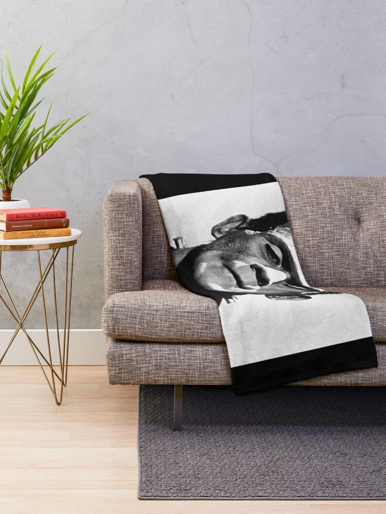 Alternate view of Classic Frankenstein Throw Blanket