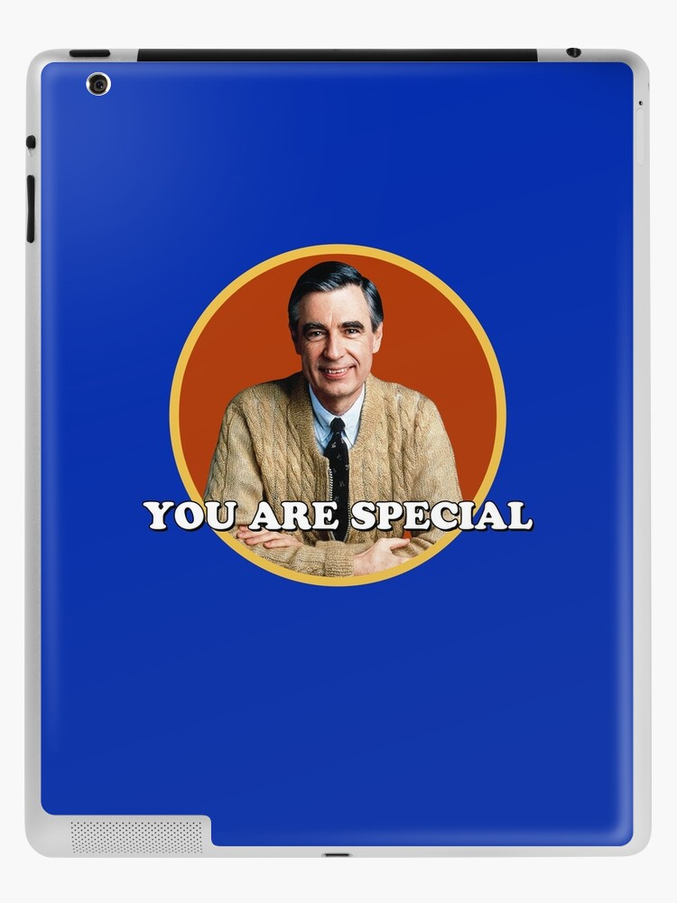 Mr Rogers You Are Special Sticker Ipad Case Skin By Holidays4you Redbubble