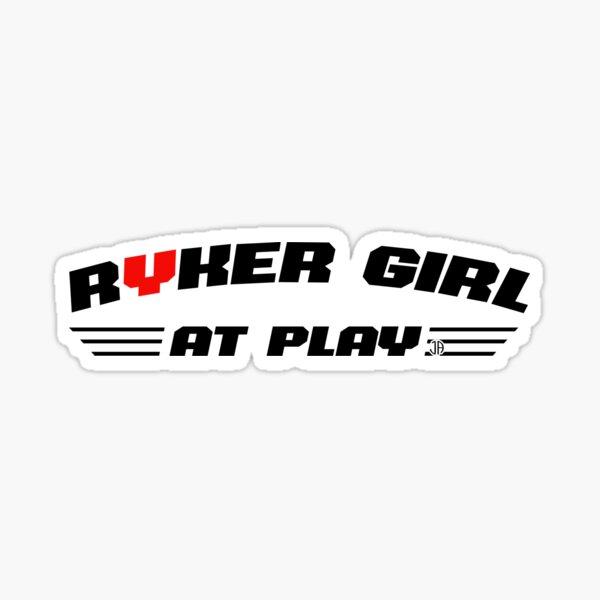 Ryker fille en jeu Sticker