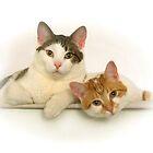 Max & Tori - Calendar Cats by Stephen D. Miller