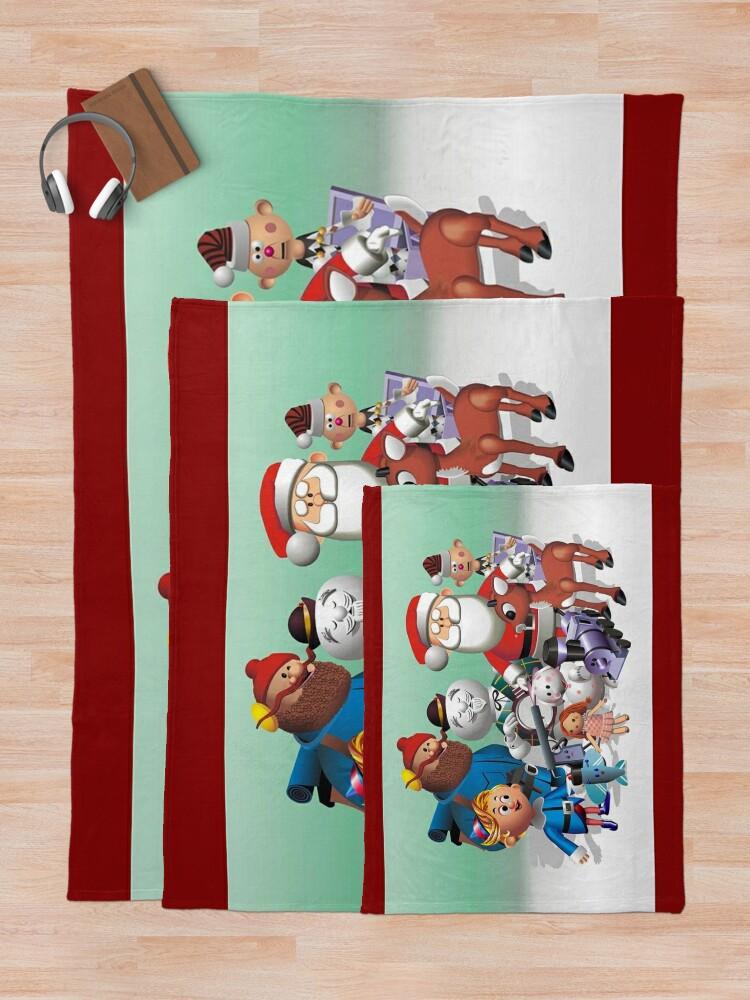 Alternate view of Holiday Fun Throw Blanket