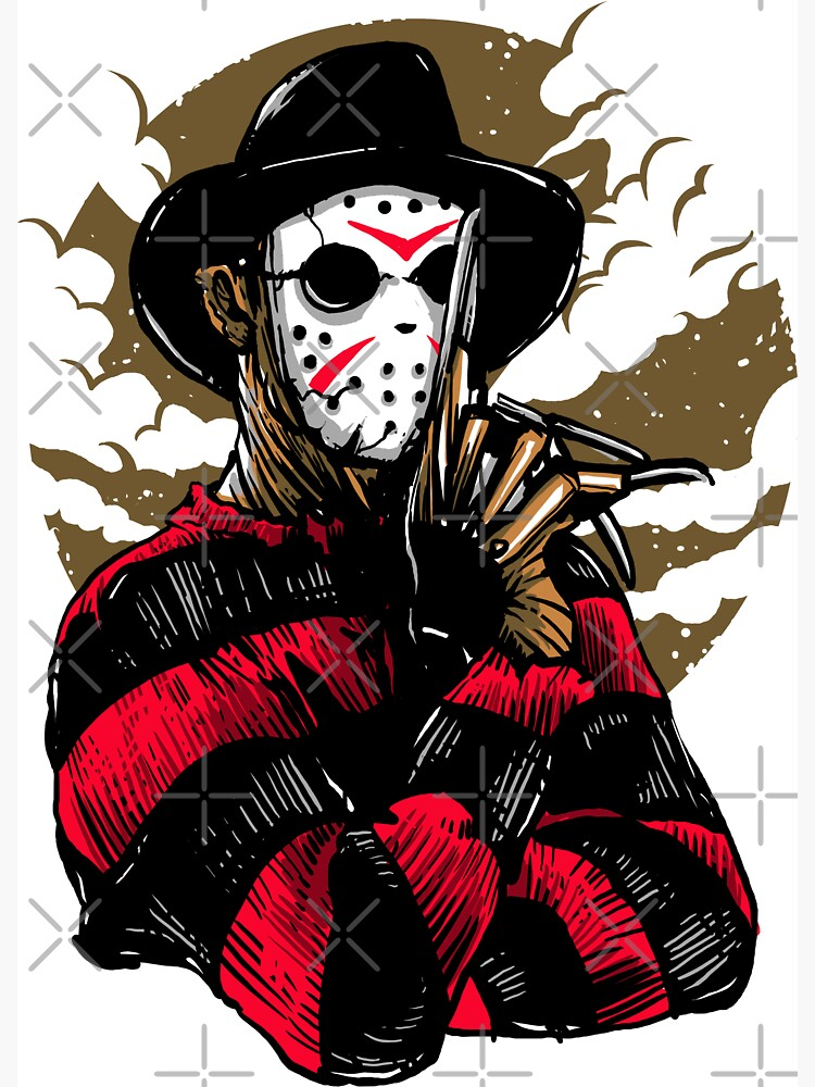 Horror Mashups: Freddy VS Jason by EnforcerDesigns