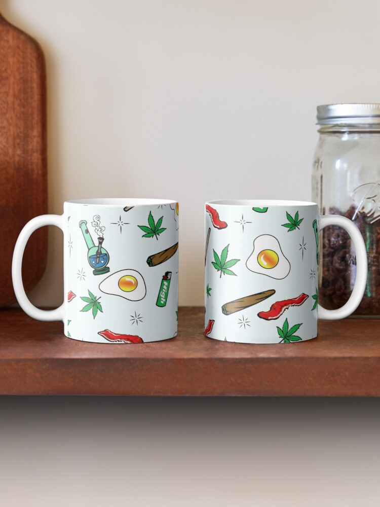Alternate view of Wake & Bake Mug