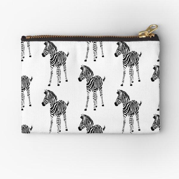 Zebra Foal (2018) Zipper Pouch