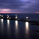 Evening at Moonta Bay by John Wallace