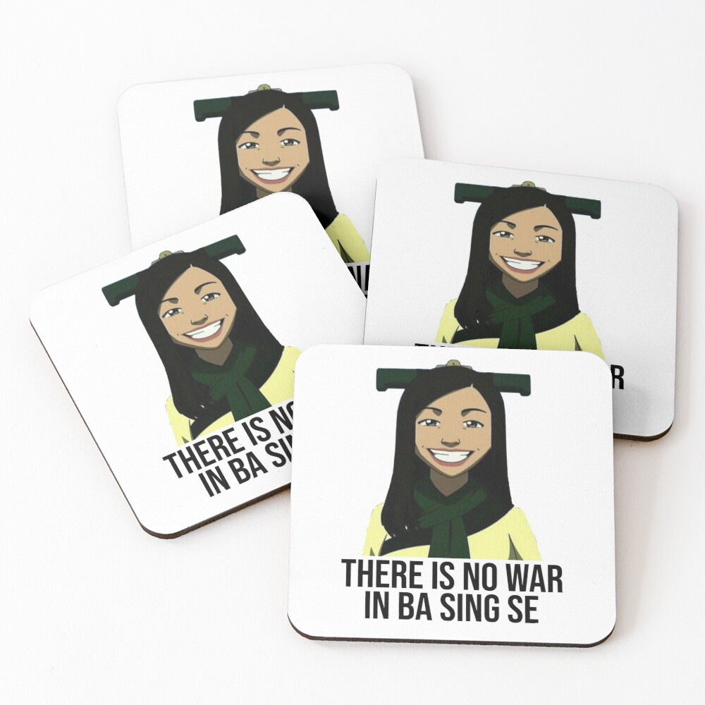 There Is No War In Ba Sing Se Coasters (Set of 4)