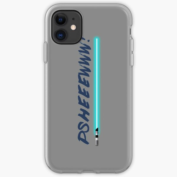 Lightsaber noise  iPhone Soft Case