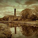 Abandoned Mills. by Irene  Burdell