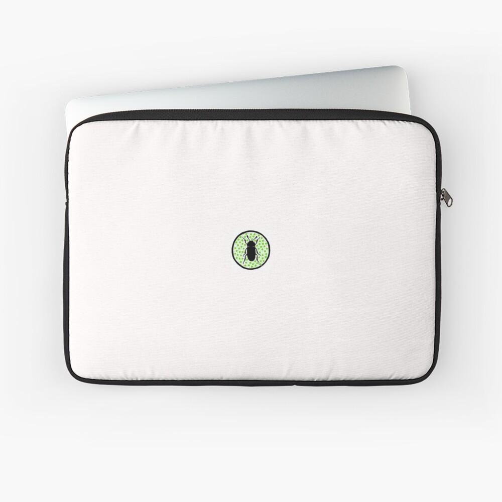 Green Erotylidae Laptop Sleeve