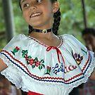 Costa Rica Dancing Girl by Ken Scarboro