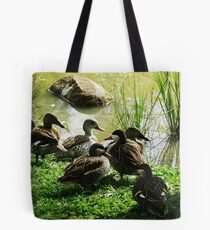 Get your ducks in a row! Tote Bag