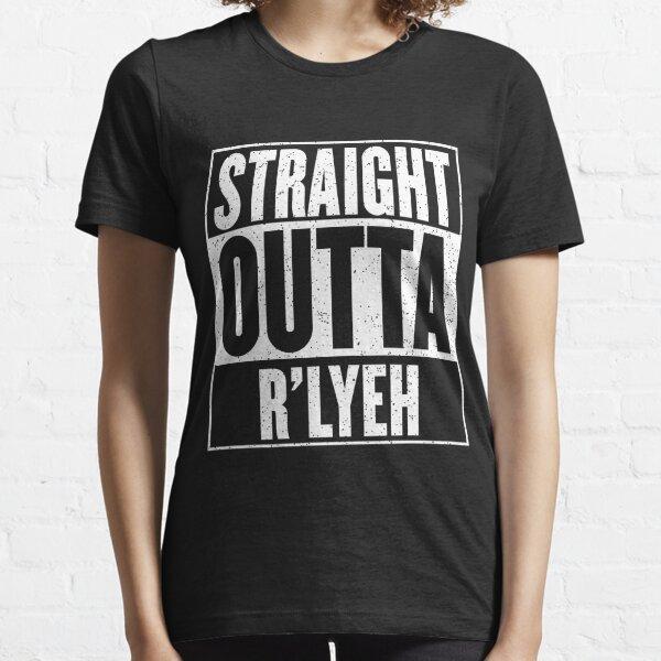 Straight Outta Rlyeh Camiseta esencial