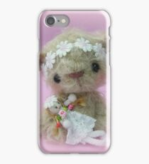 Little Gracie - Handmade bears from Teddy Bear Orphans iPhone Case/Skin