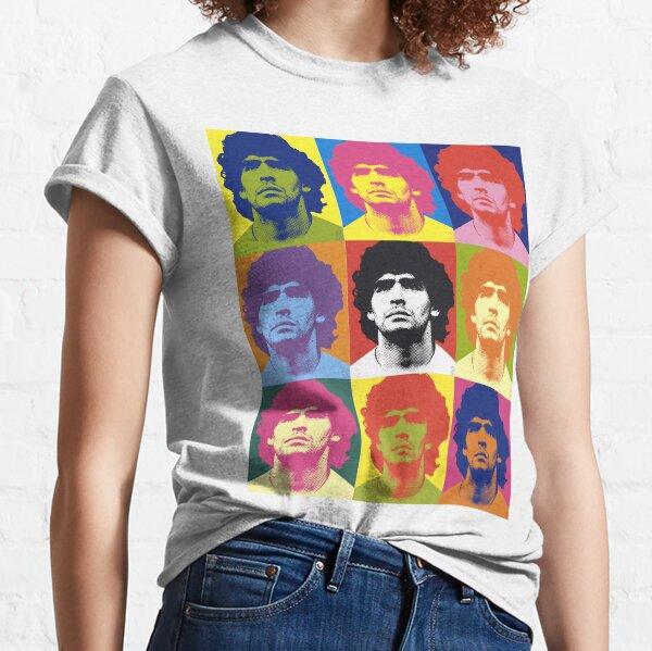 Maradona ala Warhol Camiseta clásica