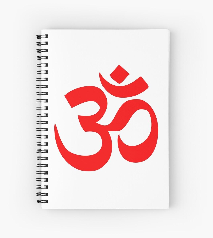 Om Shanti Om Symbol Hinduism Yoga Namaste Indian Peace Aum Namah