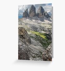 Three Peaks Greeting Card